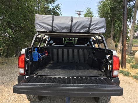 bed rack tacoma rci metalworks bed rack for 05 17 toyota tacoma