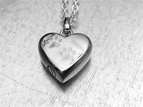 cremation necklace pet urn urn locket ashes holder