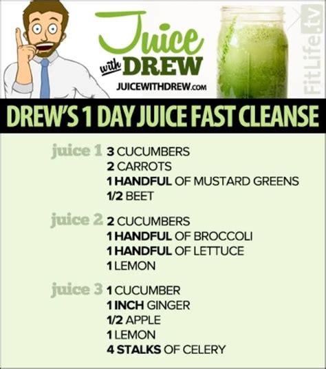 one day detox drink recipe
