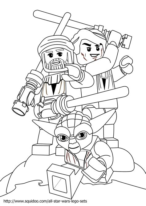 Free Coloring Pages Of Lego Star Wars 11347