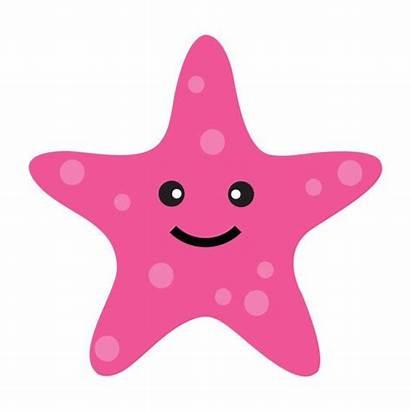 Sea Clipart Under Clip Starfish Ocean Cliparts