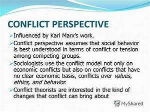 conflict theory essay topics
