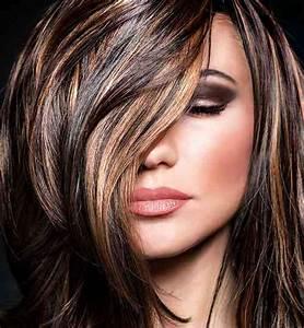 Couleur Cheveux Chocolat Caramel : coloration cheveux sur meches coupes de cheveux et coiffures ~ Melissatoandfro.com Idées de Décoration
