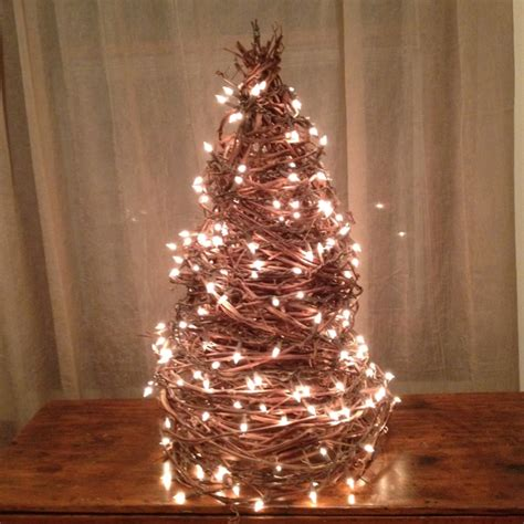grapevine christmas tree holiday pinterest