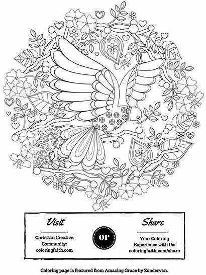 Coloring Grace Amazing Faith Clip Graphics Books