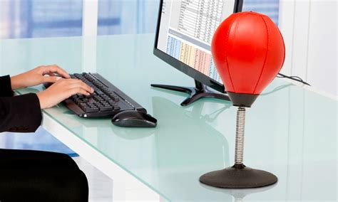 punching de bureau punch bag pour bureau groupon shopping