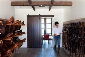 tack room equestrian farm horse rooms barns jack barn shed luxury feed lucky stable stables california architect ask questions away
