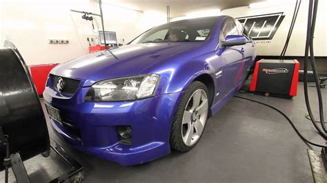 Holden Commodore On The Dyno.