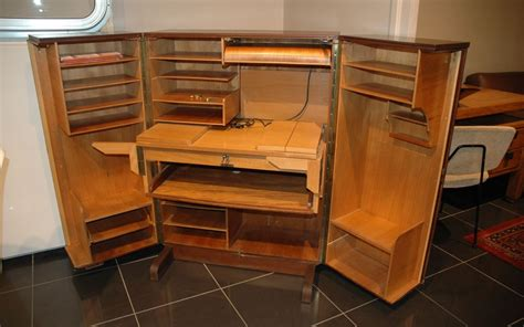 bureau refermable armoire secretaire bureau depliant 39galerie s b et