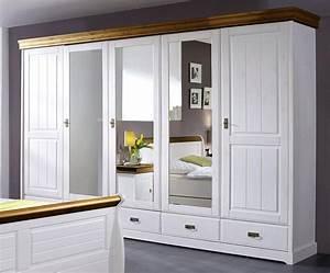 Massivholz Kleiderschrank Weiß : massivholz kleiderschrank schrank 5t rig kiefer massiv ~ Lateststills.com Haus und Dekorationen