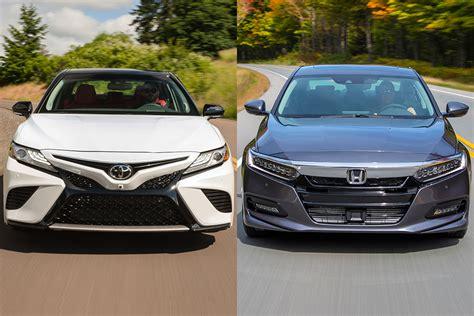 2019 Toyota Camry Vs. 2019 Honda Accord