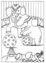 Coloring Pages Circus Printable sketch template