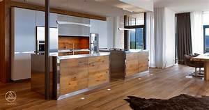 Küche Modern Mit Kochinsel Holz : designhaus weitblick von baufritz designhaus im bauhausstil ~ Bigdaddyawards.com Haus und Dekorationen
