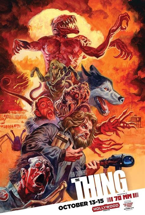 movie posters thing horror poster dan film 1982 brereton movies films zombie bewerte diesen community arte scary ru