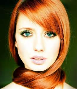 Red Hair and Green Eyes