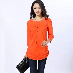 orange blouses popular orange tops buy cheap orange tops