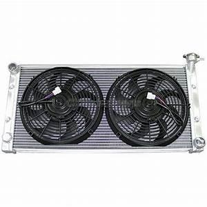 Aluminum Radiator   Fans For Datsun 510 Sr20det Engine