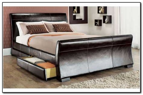 king size bed with storage drawers underneath beds with storage beds home design ideas