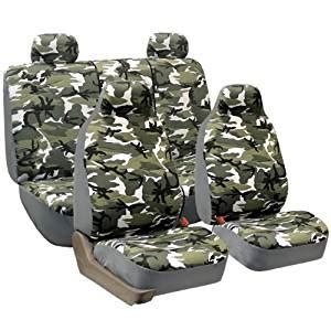 Amazoncom Fh Group Fhfb109114 Camouflage Car Seat