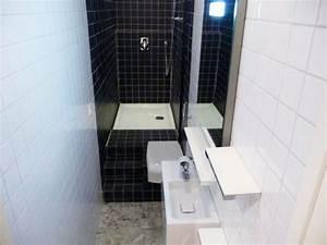 Une quotvraiequot salle de bains amenagee dans 3m2 maisonapart for Salle de bain dans 3m2
