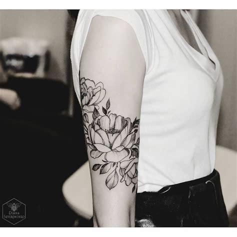 ideas  flower arm tattoos  pinterest arm
