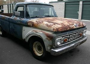 Pick Up Ford : 1963 ford f 250 pick up truck f250 f100 f150 ~ Medecine-chirurgie-esthetiques.com Avis de Voitures