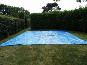 Preparation Terrain Pour Piscine Hors Sol Tubulaire : montage d 39 une piscine intex easy set autoport e ~ Melissatoandfro.com Idées de Décoration