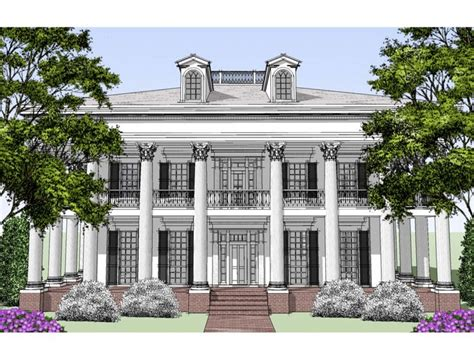 Cape Cod Style House Southern Colonial Style House Plans