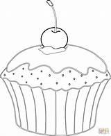 Muffin Coloring Cupcakes Cupcake Kirsche Ausmalbilder Colorare Babeczka Muffins Kolorowanka Colorear Disegni Ausmalbild Dibujos Magdalena Riscos Google Kleurplaten Supercoloring Ausmalen sketch template