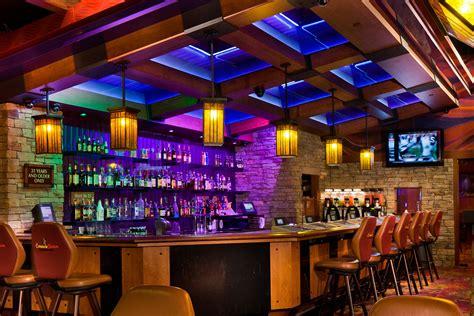 hanging lights for comanche nation casino bar design implementation