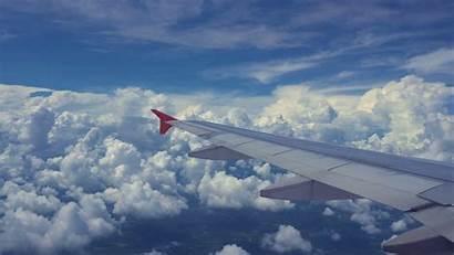 Wing Airplane Plane Aircraft Cloud Jooinn Window