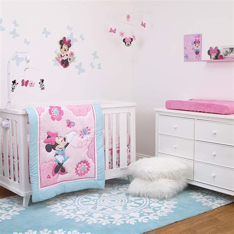 Minnie Mouse Baby Bed by Disney Minnie Mouse 3 Nursery Crib Bedding Set