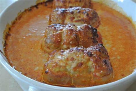 cuisiner des paupiettes de veau paupiettes au parmesan gratinées dans la cuisine de fabienne