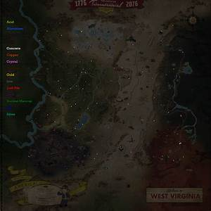 I Made A Map Of Resource Deposits Fo76