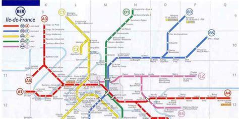 La Carte De Metro Rer by Plan Rer Plan Rer Plan Metro Plan De
