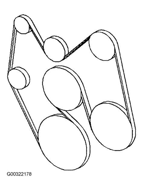 Chevrolet Blazer Serpentine Belt Routing Timing