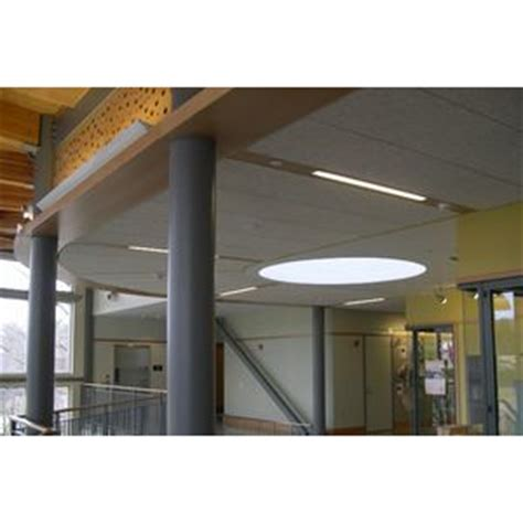 tectum concealed corridor ceiling panels tectum inc products construction building materials