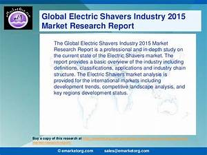 Electric Shavers market comprehensive study of production ...