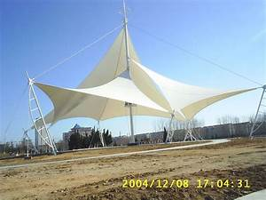 Architecture Commercial Tension Fabric Structure Membrane