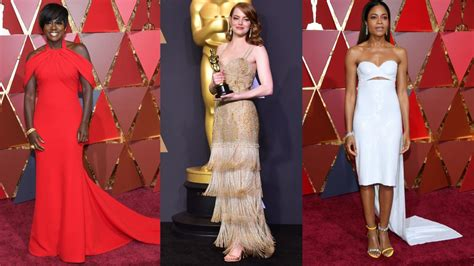 Oscars 2017 Red Carpet Fashion Review