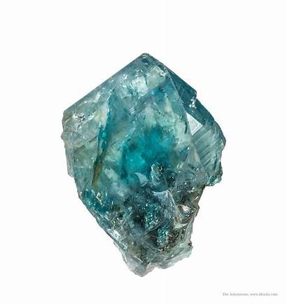 Euclase Minerals Mineral Fine Glassy Bright Irocks