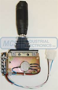 Jlg Joystick Controllers From Mcs Industrial