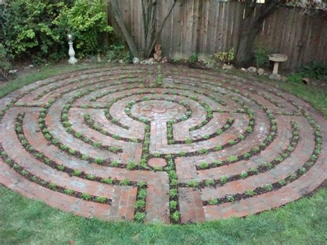 Backyard Labyrinth by Santa Rosa Labyrinth Design Could Do This In A Small Space