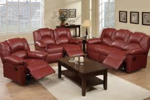 Wenger Chair by Reed Burgundy Leather Recliner Sofa