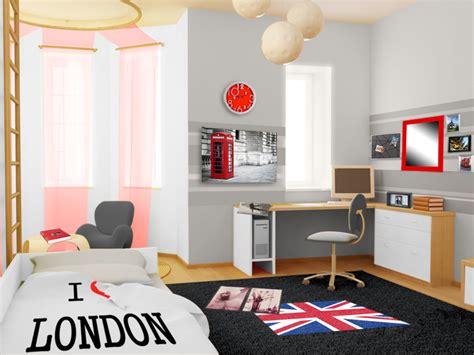 cadre chambre ado décoration d 39 une chambre d 39 ado style urbain londonien