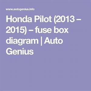 Honda Pilot  2013 - 2015