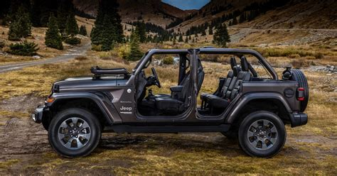 2019 Jeep Wrangler Gets More Safety Features And Bikini