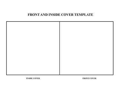 db inside template template for cd cover front and inside cover back cover