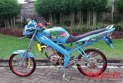 Modifikasi Rr 2011 Kontes by Kumpulan Foto Modifikasi Motor Vixion Warna Biru