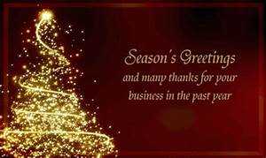 Unique christmas greeting cards 2017 quot happy holiday for E holiday cards for business